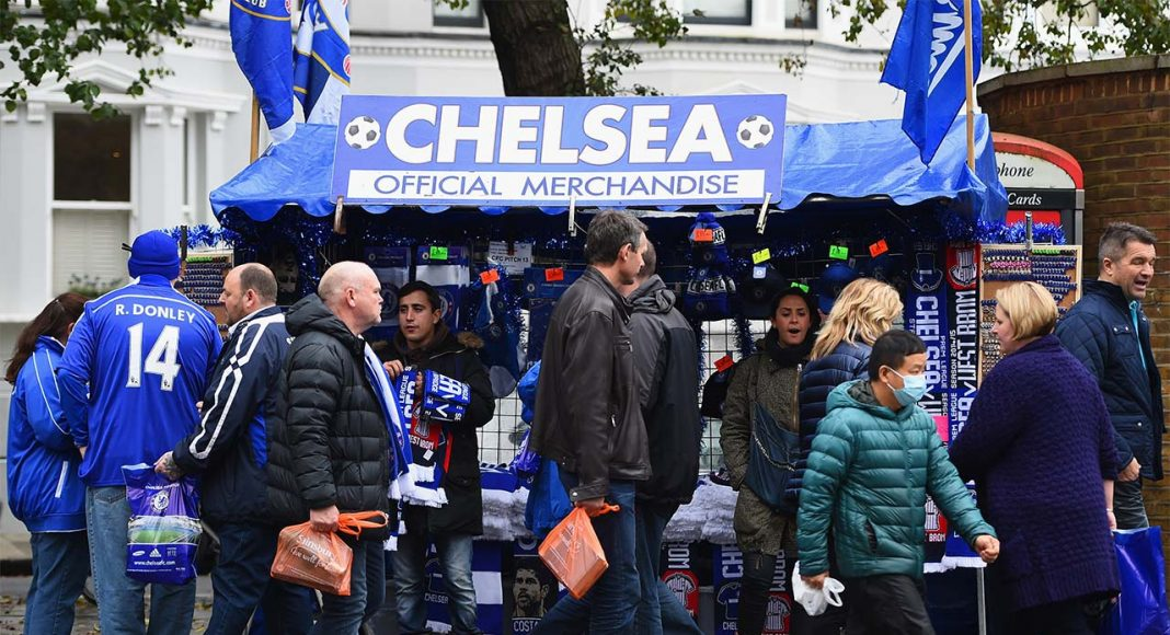 chelsea stalls on fulham road