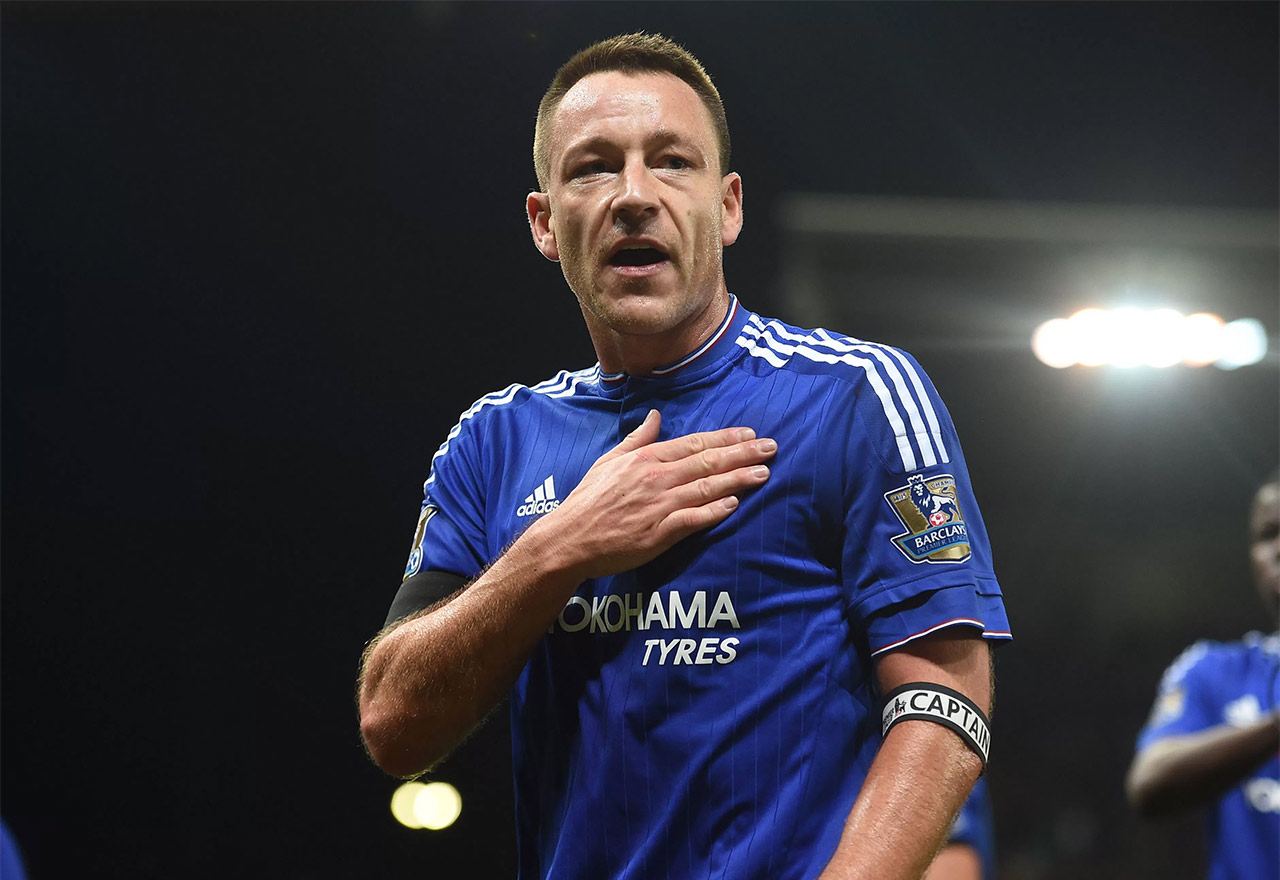 Walkout on 26 minutes for John Terry Talk Chelsea