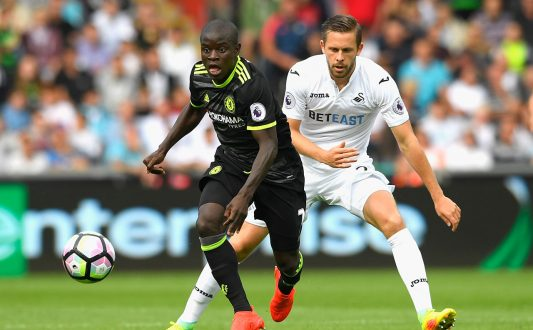 kante against swansea