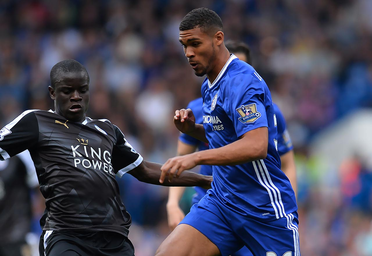 Ruben Loftus-Cheek against Leicester