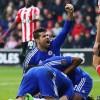 Chelsea celebrate againt Southampton