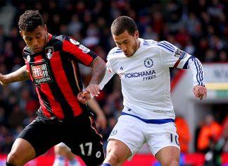 Hazard against Bouremouth