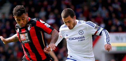 Hazard against Bouremouth