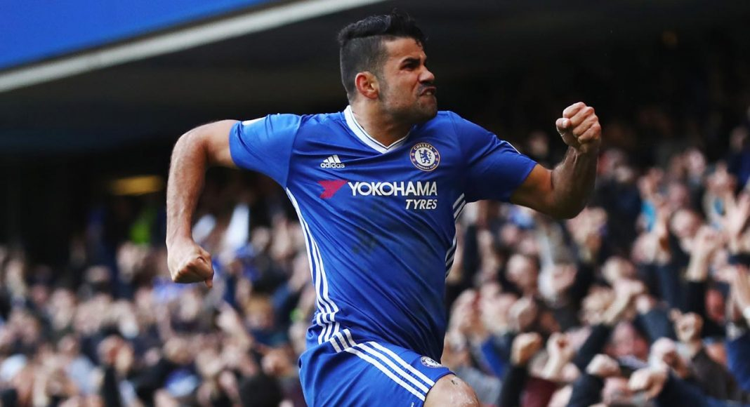 Diego Costa on fire for Chelsea
