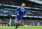hazard scores against Man City