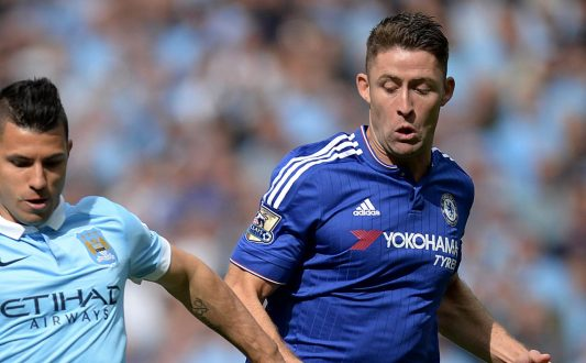 gary cahill vs man city
