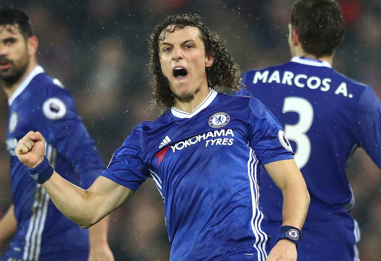 Liverpool 1 1 Chelsea David Luiz scores as the Blues draw at