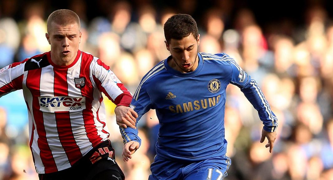 hazard against brentford