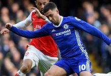 hazard against arsenal