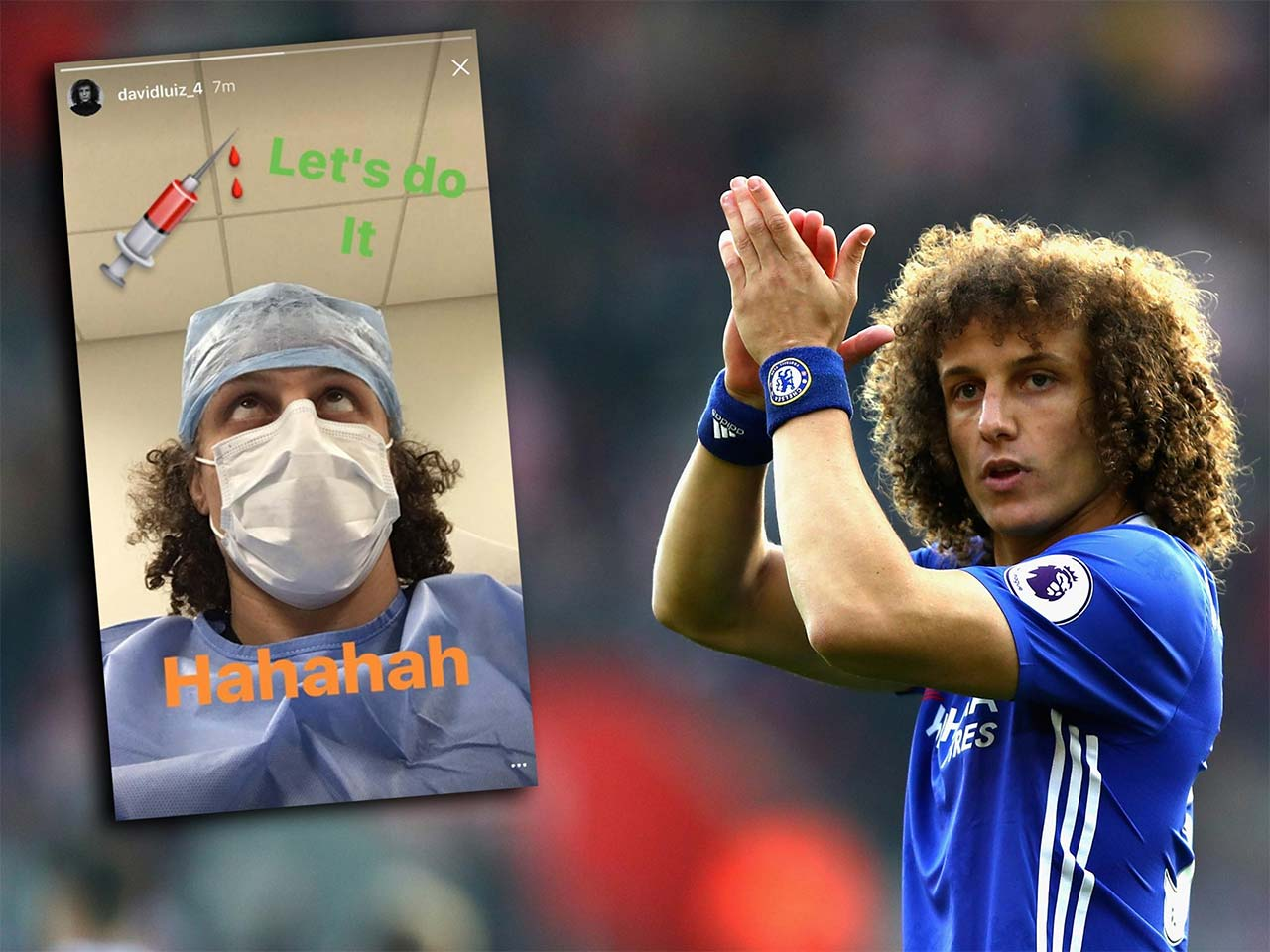 david luiz injury