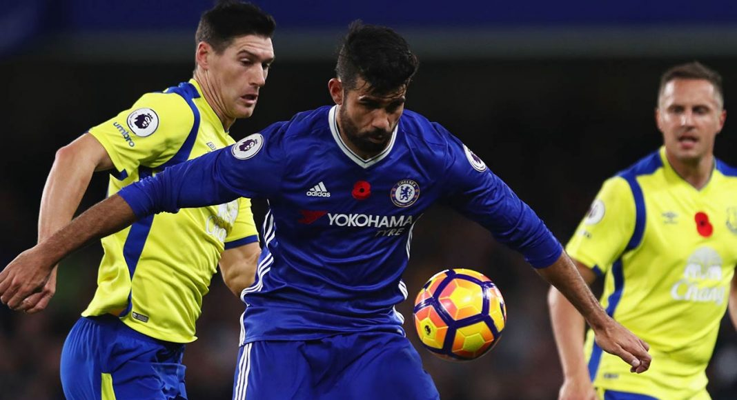 diego costa against everton