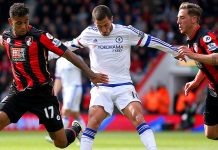 hazard vs bournemouth