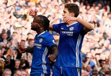 Stars Victor Moses and Marcos Alonso