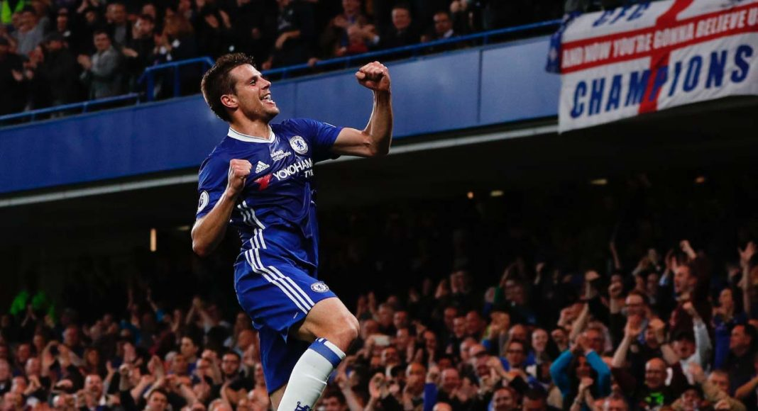 Chelsea unconcerned with Cesar Azpilicueta interest?