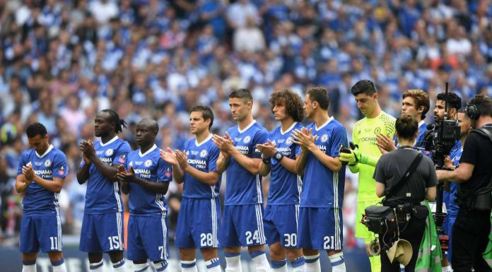 Chelsea line up