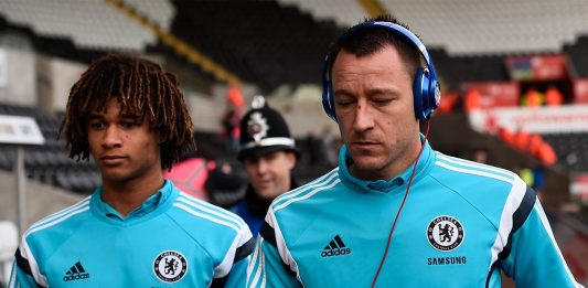 Nathan Ake and John Terry