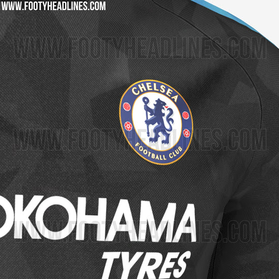 Nike Chelsea 17-18 Third Kit Leaked