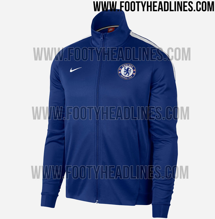 nike chelsea 17/18 training jacket
