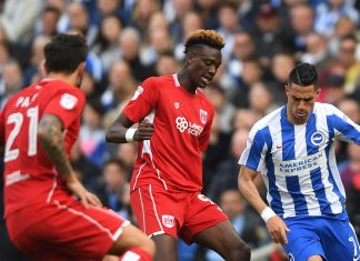 tammy abraham playing for Bristol City