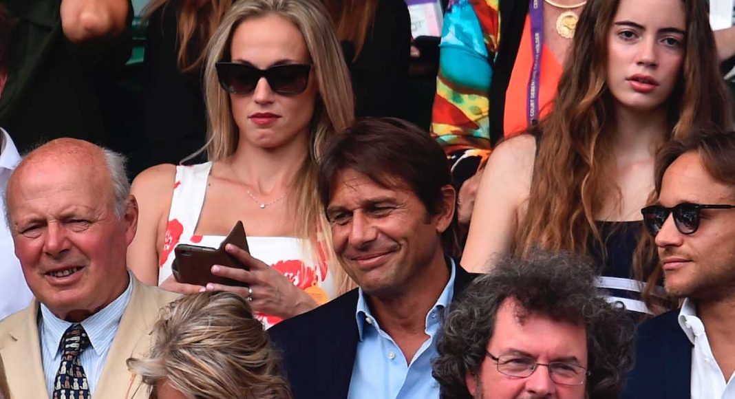 antonio conte at wimbledon