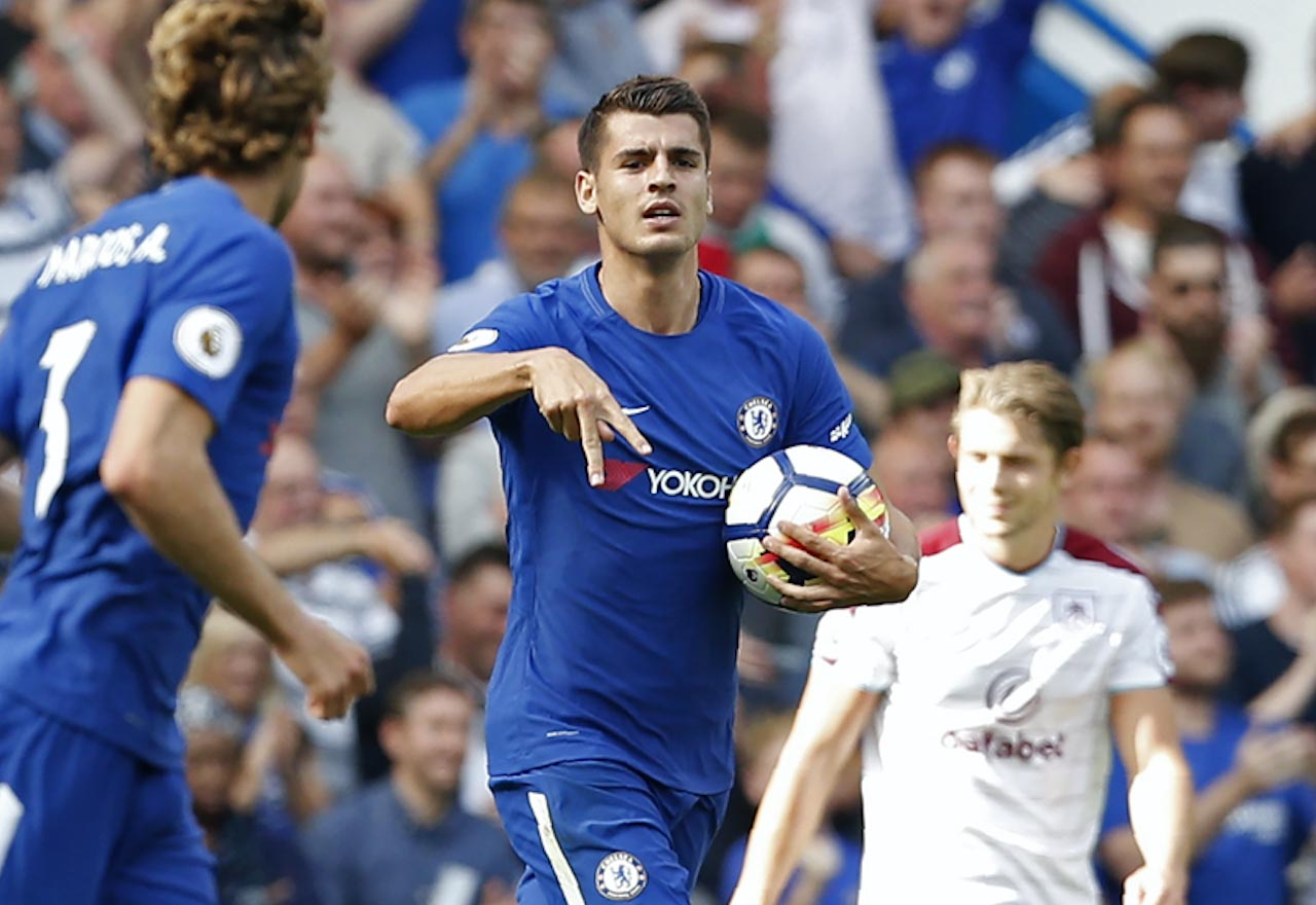 Image Alvaro Morata proves he may be the coolest man alive
