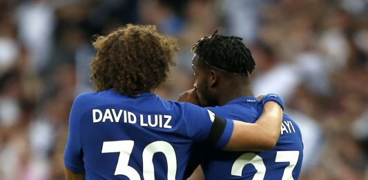 David Luiz Michy & Batshuayi