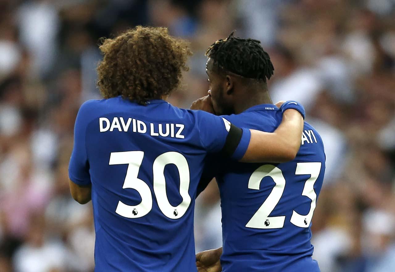 David Luiz Michy & Batshuayi