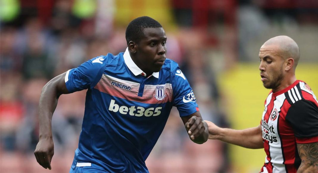 Kurt Zouma at Stoke City