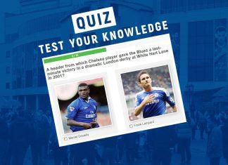 The Chelsea Quiz - Vs Tottenham