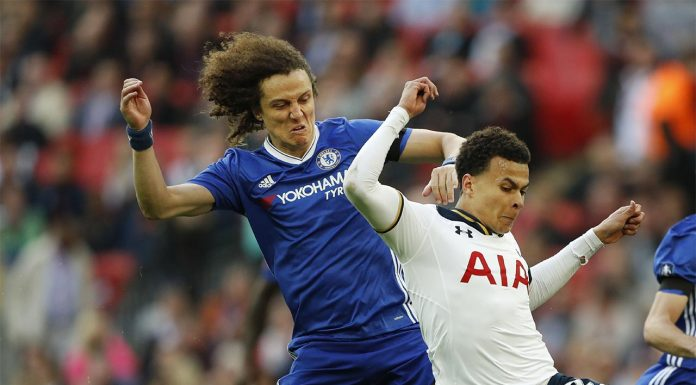 Tottenham v Chelsea - David Luiz & Dele Alli