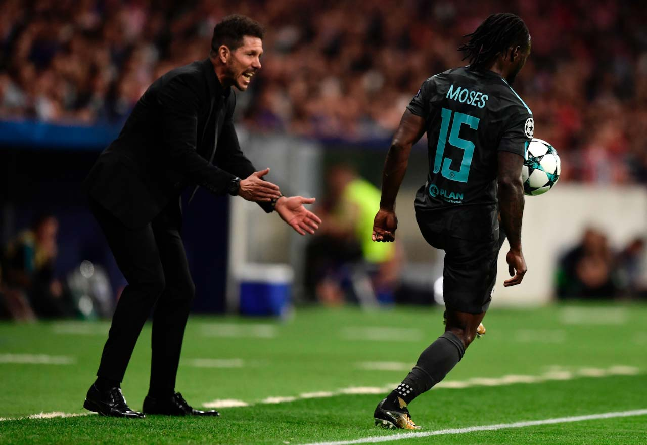 Diego Simeone Victor Moses