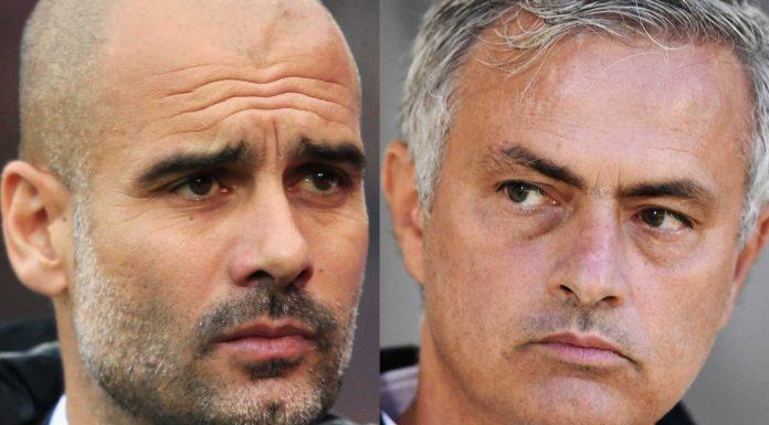 Pep Guardiola Jose Mourinho2