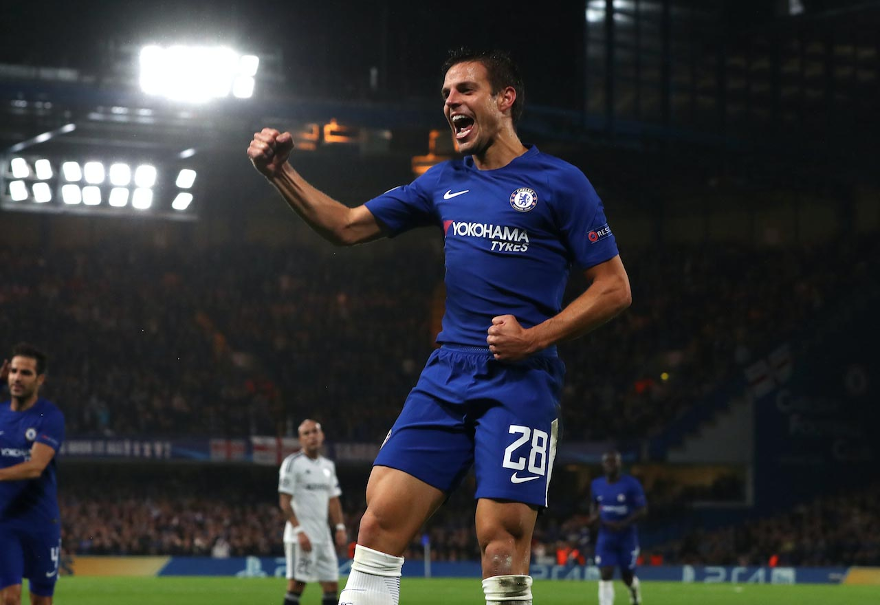 Azpilicueta Chelsea players giving Conte selection headache is
