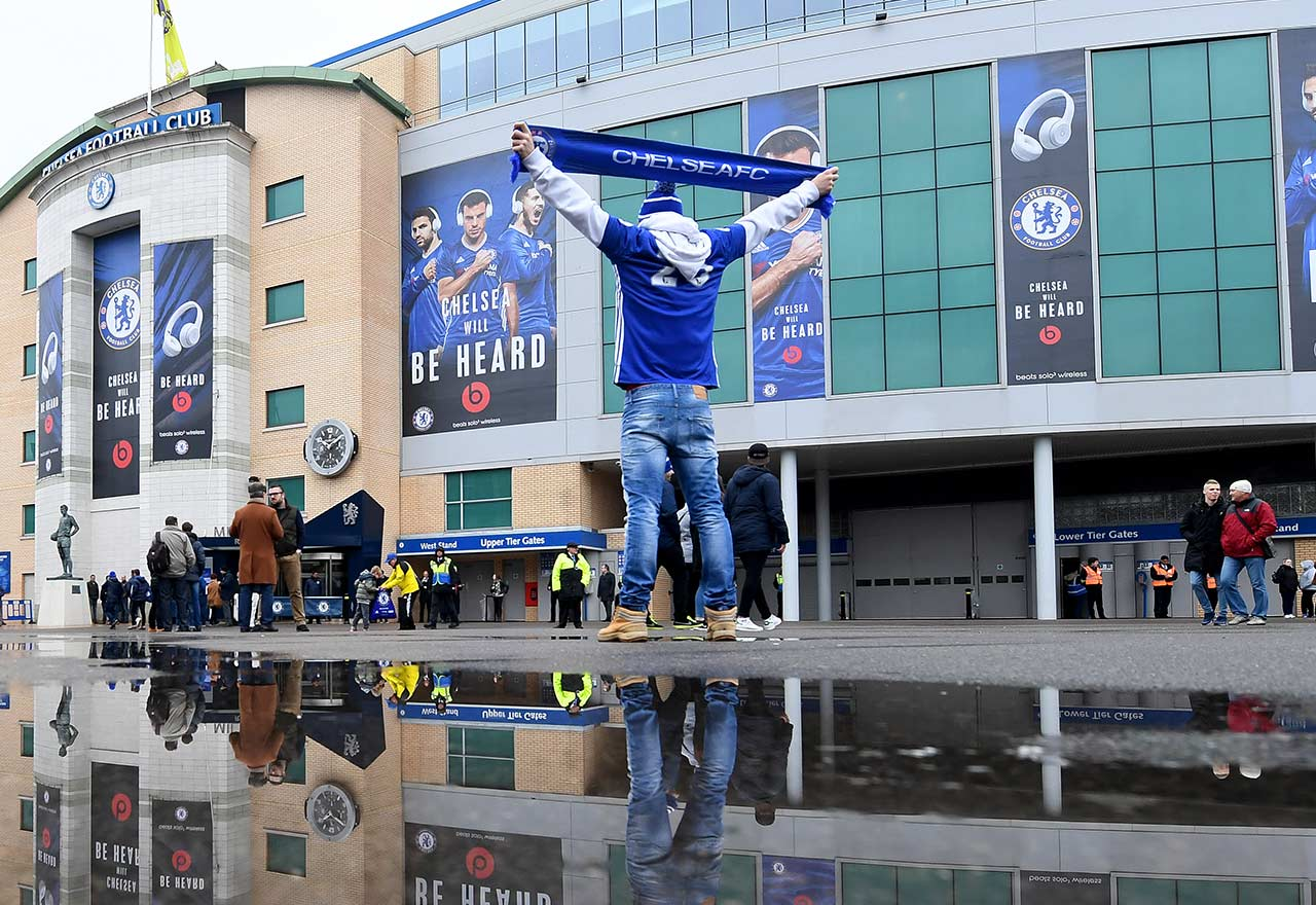 Chelsea Fan Stamford Bridge2