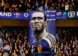 Drogba Banner Stamford Bridge