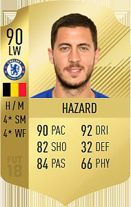 Hazard Fifa 18