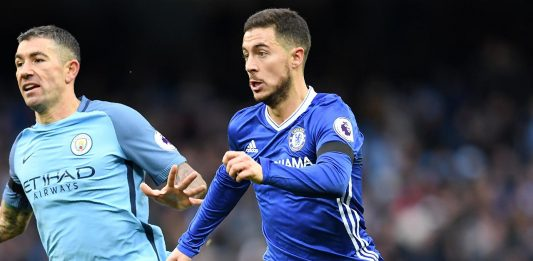 Hazard Vs Man City