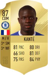 Ngolo Kante Fifa 18