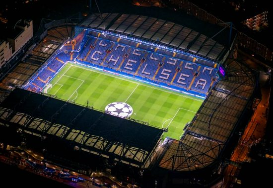 Stamford Bridge Champions League Night