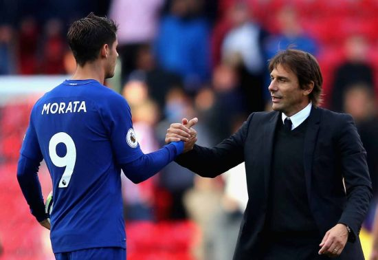 Conte explains why Terry visited Chelsea training
