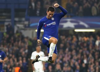 Eden Hazard V As Roma