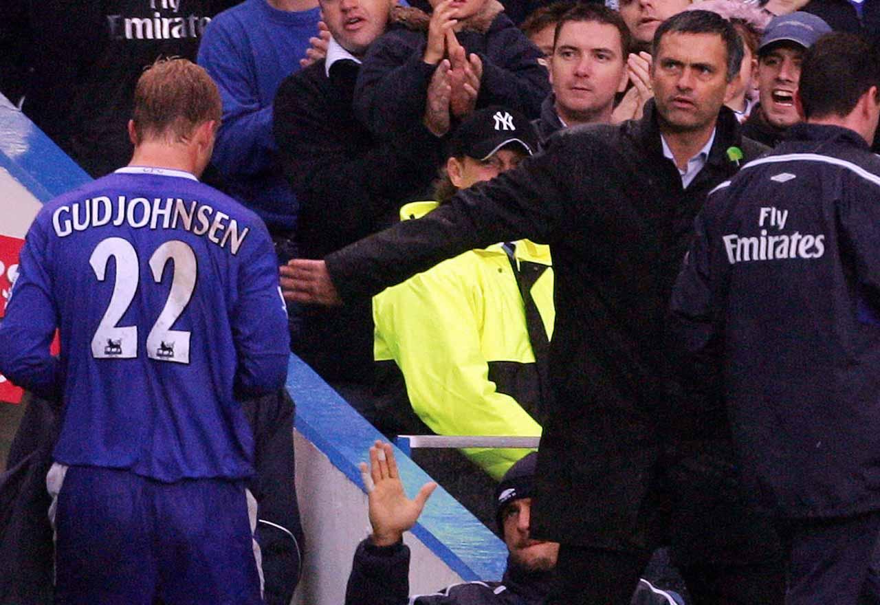 Eidur Gudjohnsen Jose Mourinho