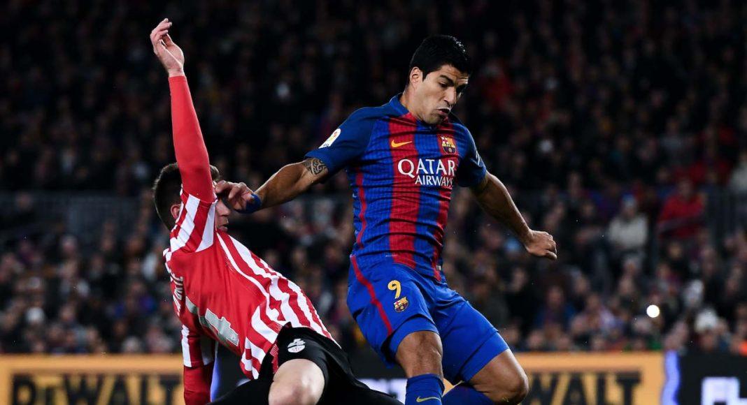 Aymeric Laporte Luis Suarez