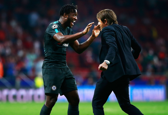 Batshuayi and Conte