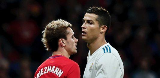 Antoine Griezmann Cristiano Ronaldo