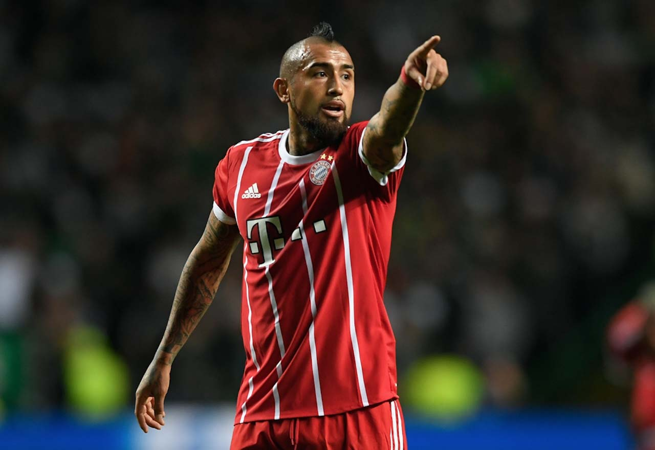 Bayern Munich willing to sell Chelsea tar Arturo Vidal for £50M