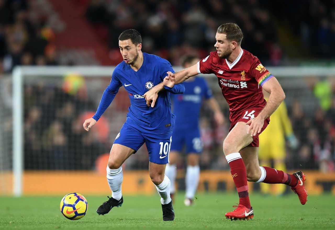 Antonio Conte pleased with Eden Hazard in striker role for Chelsea
