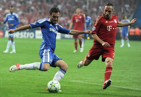 Juan Mata Franck Ribery