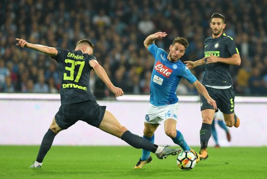 Ssc Napoli V Fc Internazionale Serie A