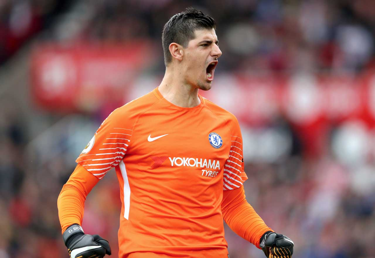 Chelsea keeper Thibaut Courtois wanted by Real Madrid Juventus PSG